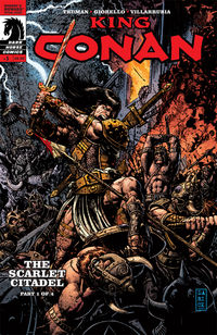 King Conan: The Scarlet Citadel #1 (Darick Robertson cover)