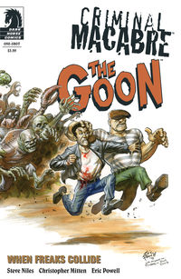 Criminal Macabre/The Goon: When Freaks Collide (Eric Powell variant cover)