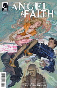 Angel and Faith #5 (Steve Morris cover)