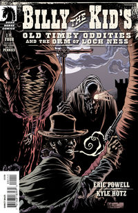 Billy the Kid's Old Timey Oddities and the Orm of Loch Ness #1 (Kyle Hotz cover)