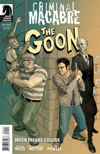 Criminal Macabre/The Goon: When Freaks Collide (Fiona Staples cover)