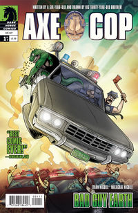 Axe Cop: Bad Guy Earth #1