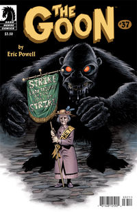 Goon #37 (Eric Powell cover)