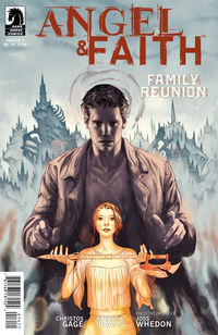 Angel and Faith #14 (Steve Morris cover)