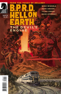 B.P.R.D. Hell on Earth: The Devil's Engine #1