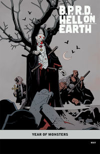 B.P.R.D. Hell on Earth: The Transformation of J. H. O'Donnell (One-Shot) (Mike Mignola Variant cover)