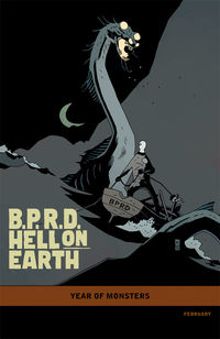 B.P.R.D. Hell on Earth: The Long Death #1 (Mike Mignola variant cover)