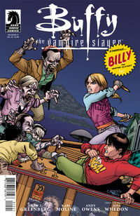 Buffy the Vampire Slayer: Season Nine #15 (Georges Jeanty variant cover)