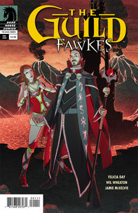 Guild: Fawkes (one-shot) (Paul Duffield cover)