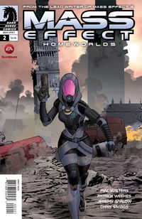 Mass Effect: Homeworlds #2 (Mike Hawthorne Variant cover)