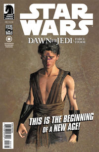 Star Wars: Dawn of the Jedi #1 (3rd printing)
