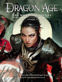 Dragon Age: The World of Thedas Volume 2 HC - nick & dent