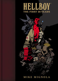 Hellboy: The First 20 Years HC - nick & dent