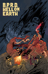 B.P.R.D. Hell On Earth #117 (James Harren Variant Cover)