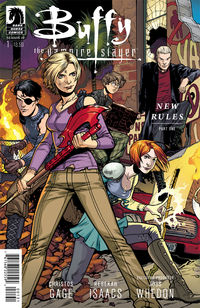 Buffy The Vampire Slayer Season 10 #1 (Rebekah Issacs Ultra Variant Cover)