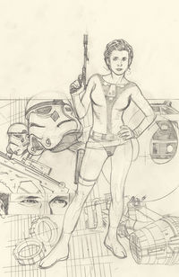 Star Wars Rebel Heist #2 (Of 4)(Adam Hughes Ultra Variant Cover)