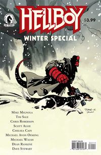 Hellboy Winter Special comic book review at TFAW.com