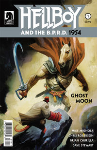Hellboy and the B.P.R.D.: 1954 - Ghost Moon #1