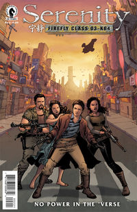 Serenity: No Power in the 'Verse #2 (Georges Jeanty variant cover)