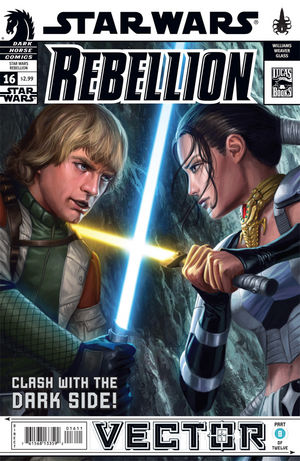 Star Wars: Rebellion #16--Vector part 8. Darth Vader successfully lures Luke