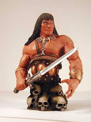 conan the barbarian comic. Conan the Barbarian Mini-Bust: