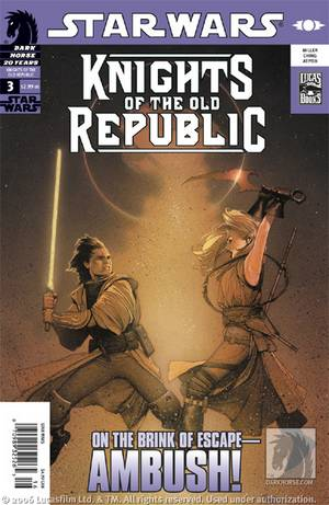 Star Wars: Knights of the Old Republic #3. Zayne Carrick never expected to