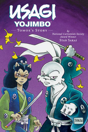 Usagi Yojimbo, v. 22: Tomoe's Story cover
