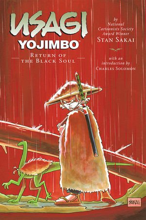 Usagi Yojimbo, v. 24: The Return of the Black Soul cover