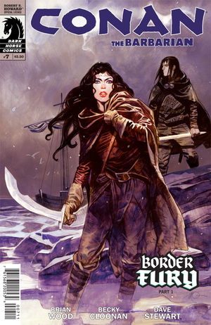 Conan the Barbarian #7 cover