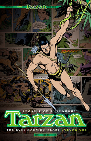 Dark Horse udgiver Tarzan: The Russ Manning Years
