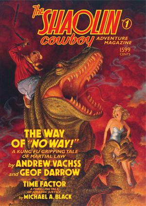 Darrow >> The Shaolin Cowboy Adventure Magazine TPB :: Profile :: Dark Horse Comics