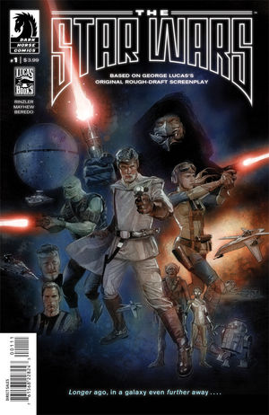 The Star Wars comic book