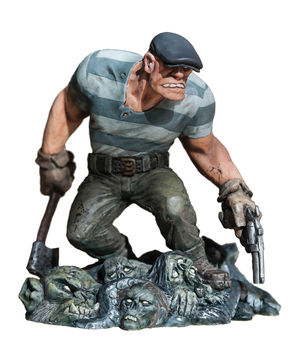 The Goon Statue