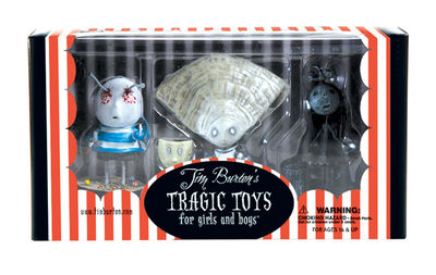 Tim Burton's PVC Set #3: Oyster Boy JUL030058
