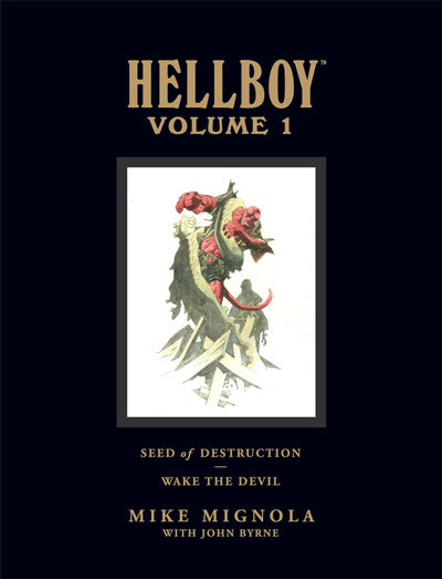 Hellboy Library Edition Volume 1: Seed of Destruction and Wake the Devil HC
