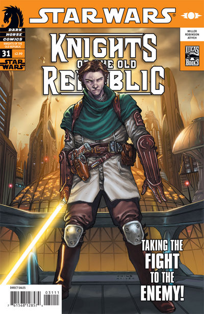 Star Wars   Legacy (Issue No  26) & KOTOR (Issue No  31) preview 1