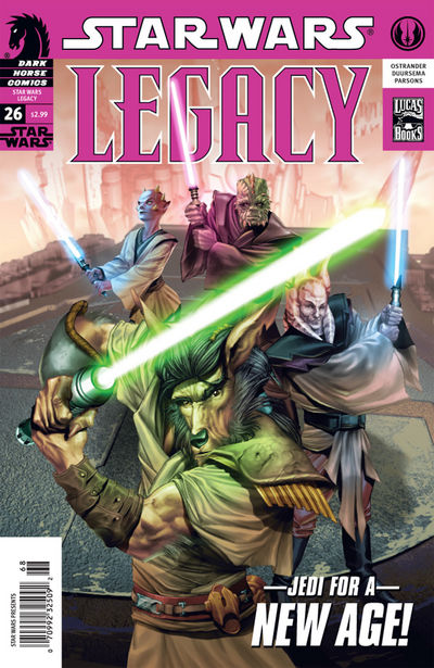 Star Wars   Legacy (Issue No  26) & KOTOR (Issue No  31) preview 0