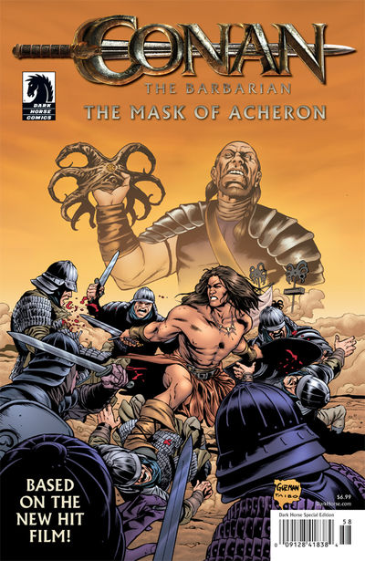 Conan the Barbarian: The Mask of Acheron TPB