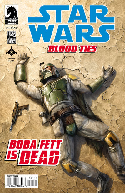 Star Wars: Blood Ties - Boba Fett is Dead #1 (Chris Scalf cover)
