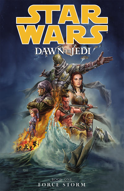 Star Wars: Dawn of the Jedi Vol. 1 TPB - Force Storm
