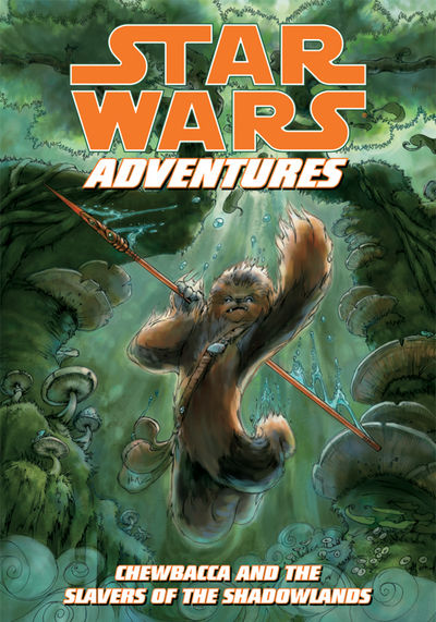 Star Wars Adventures: Chewbacca and the Slavers of the Shadowlands TPB - nick & dent