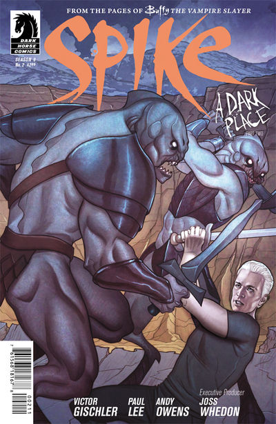 Buffy the Vampire Slayer: Spike #2 (Jenny Frison cover)
