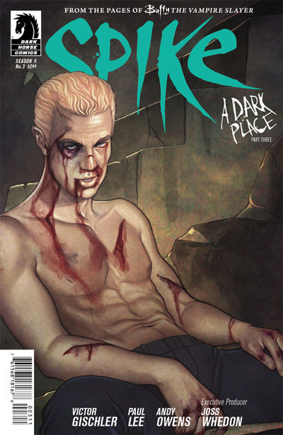 Buffy the Vampire Slayer: Spike #3 (Jenny Frison cover)