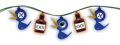 Drinky Crow Party Lights