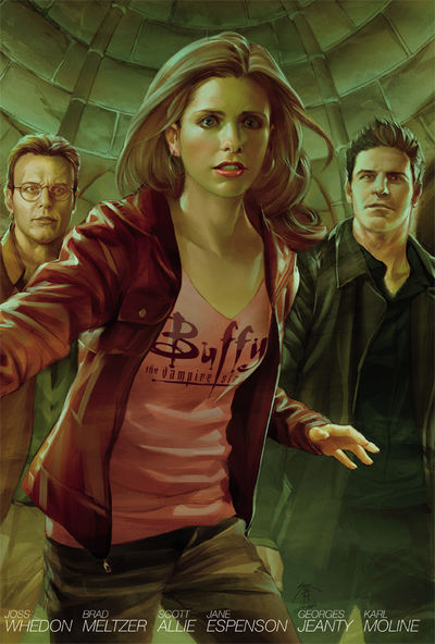 Buffy the Vampire Slayer Season Eight Library Edition HC Volume 4 NOV120049