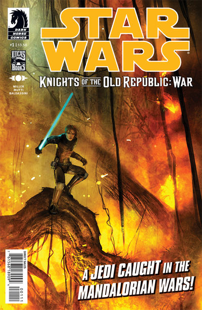 Star Wars: Knights of the Old Republic-War #1 (Benjamin Carré cover)