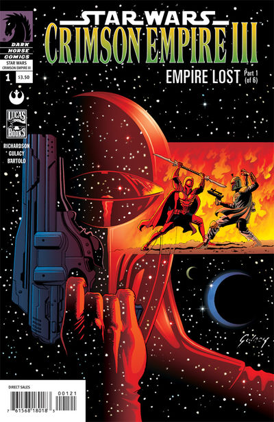 Star Wars: Crimson Empire III-Empire Lost #1 (Paul Gulacy Variant cover)