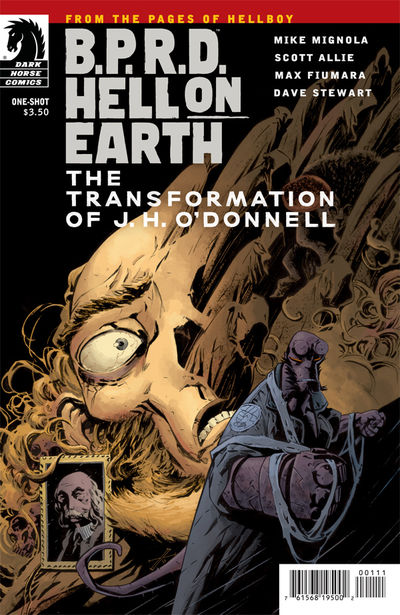 B.P.R.D. Hell on Earth: The Transformation of J. H. O'Donnell (One-Shot) (Max Fiumara cover)