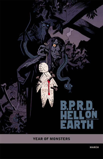 B.P.R.D. Hell on Earth: The Pickens County Horror #1 (Mike Mignola variant cover)