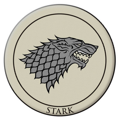 Game of Thrones Embroidered Patch: Stark JAN120135